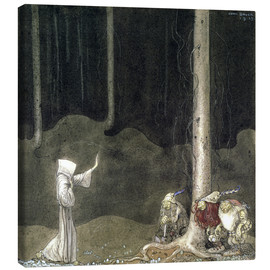 John Bauer - Brother St. Martin and the Three Trolls