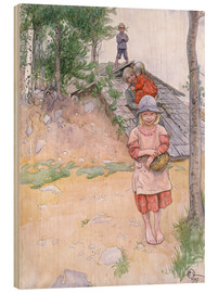 Wood  By the Cellar - Carl Larsson
