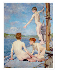 Premium poster The Bathers