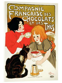 Acrylic glass  French Company of Chocolate and Tea - Théophile-Alexandre Steinlen
