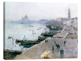John Singer Sargent - Venice in the gray sky