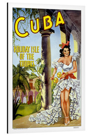 Aluminium print  Cuba - holiday island - Travel Collection