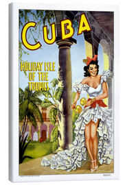 Canvas print  Cuba - holiday island - Travel Collection