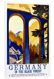 Foam board print  Black Forest, Germany - Travel Collection