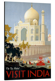 Aluminium print  Indien - Taj Mahal - Travel Collection