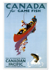 Premium poster  Canada for Game Fish
