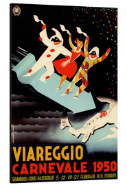 Aluminium print  Viareggio Carnevale - Advertising Collection