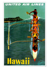Premium poster  Hawaii - Travel Collection