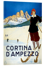 Acrylic print  Cortina d'Ampezzo - Travel Collection