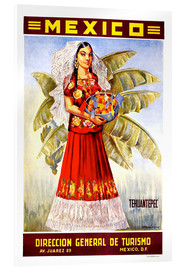 Acrylic print  Mexico - Tehuantepec - Travel Collection