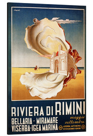Aluminium print  Italy - Riviera di Rimini - Travel Collection