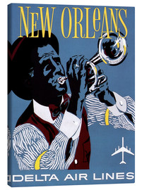 Canvas print  Fly to New Orleans
