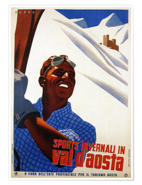 Premium poster  Val d´Aosta - Travel Collection