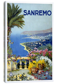 Canvas print  Sanremo, Italy - Travel Collection