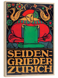 Wood print  Seidengrieder Zurich - Advertising Collection