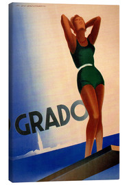 Canvas print  Grado - Travel Collection