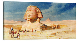 Canvas print  The Sphinx of Giza, 1874 - Carl Haag