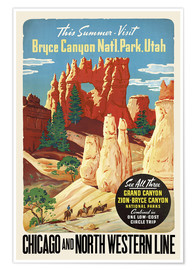 Premium poster Bryce Canyon National Park Utah