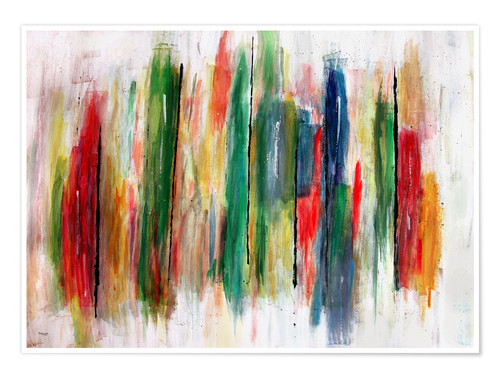 Poster Abstract Painting
