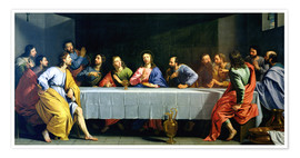 Premium poster The Last Supper, called 'The Little Last Supper'