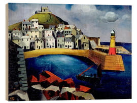 Wood  The Harbour, 1926 - Christopher Wood