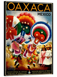 Aluminium print  Mexico - Oaxaca - Travel Collection