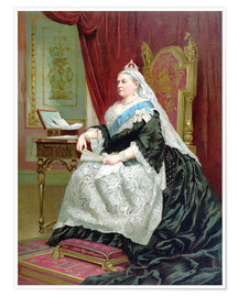 Premium poster Portrait of Queen Victoria on her Golden Jubilee