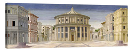 Canvas print  The Ideal City or City of the Gods, 1470 - Luciano Laurana