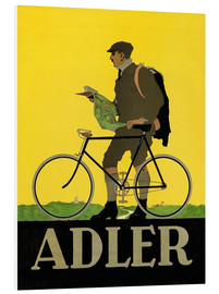 Foam board print  Adler Bicycles - Advertising Collection