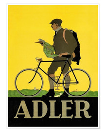 Poster  Adler Bicycles