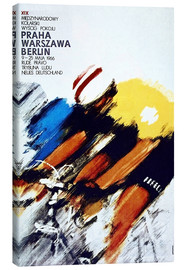 Canvas print  Races; Prague - Warsaw - Berlin - Advertising Collection
