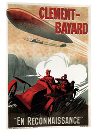 Acrylic print  Clement Bayard Automobile - Advertising Collection
