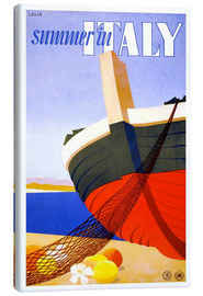 Canvas print  Summer in Italy - Travel Collection
