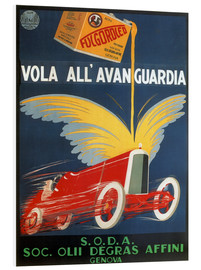 Foam board print  Automotive oil from Genoa - Advertising Collection