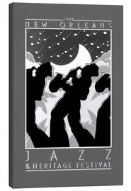 Canvas print  New Orleans - Jazz - Entertainment Collection