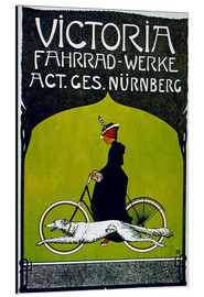 Aluminium print  Victoria Fahrradwerke - Advertising Collection