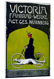 Foam board print  Victoria Fahrradwerke - Advertising Collection