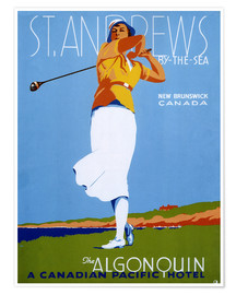 Premium poster St. Andrews - Golf