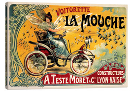 Canvas print  Voiturette La Mouche - Advertising Collection