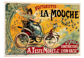 Foam board print  Voiturette La Mouche - Advertising Collection