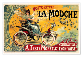 Premium poster  Voiturette La Mouche - Advertising Collection