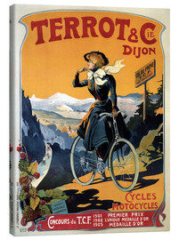 Canvas print  Terrot & Cie Dijon bicycles and motorcycles - Advertising Collection