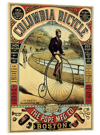 Foam board print  Columbia Bicycles - Advertising Collection