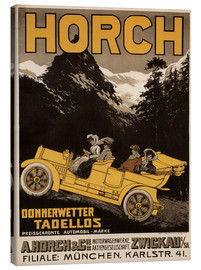 Canvas  Horch Cars - Gosh perfectly