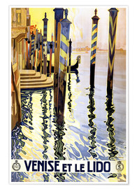 Premium poster  Italy - Venice - Travel Collection