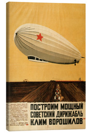 Canvas print  Russian Zeppelin - Travel Collection