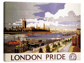 Canvas print  London Pride - Travel Collection