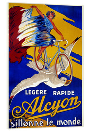 Acrylic print  Alcyon - sillonne le monde - Advertising Collection