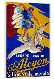 Foam board print  Alcyon - sillonne le monde - Advertising Collection