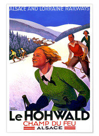 Premium poster  Le Hohwald, Alsace - Travel Collection